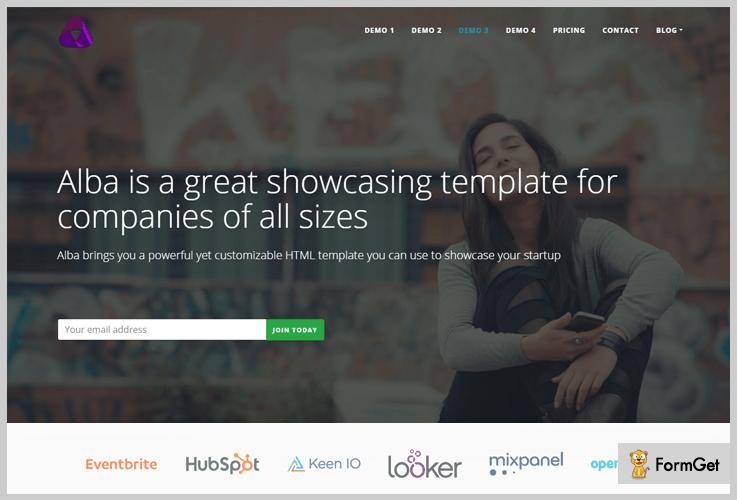 Alba SaaS WordPress Theme