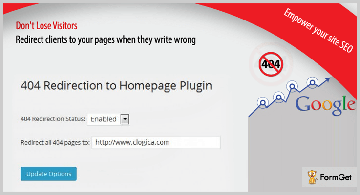 All 404 Redirect To Home 404 Redirect WordPress Plugin