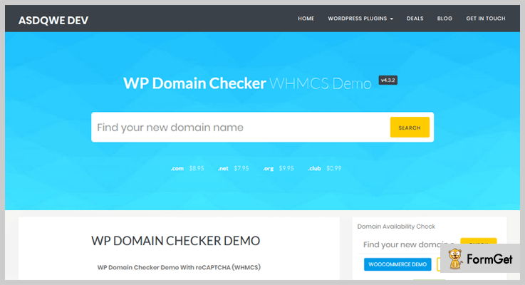 WP Domain Checker WordPress Plugins