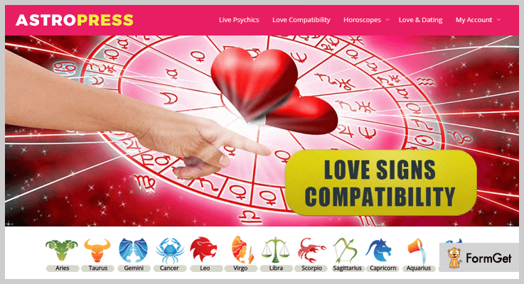 AstroPress WordPress Astrology Plugin