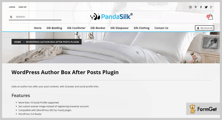Author Box After Post Author Profile WordPress Plugin