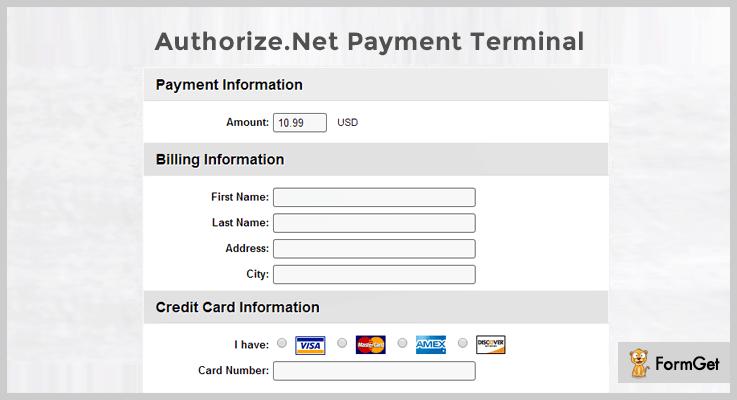 Authorize.Net Payment Button WordPress Plugins