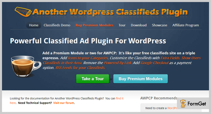 AWPCP Classifieds WordPress Plugins