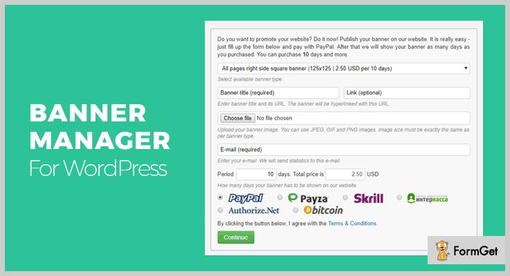 Banner Manager WordPress Banner Plugin