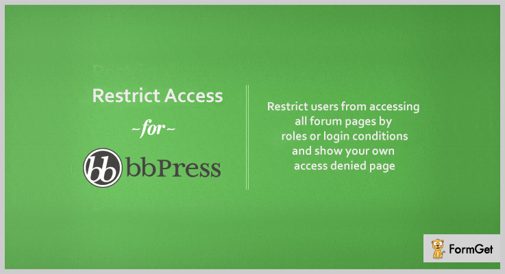 bbPress Access WordPress bbPress Plugin