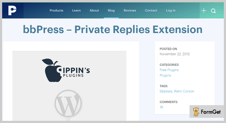 bbPress Private Replies WordPress bbPress Plugin