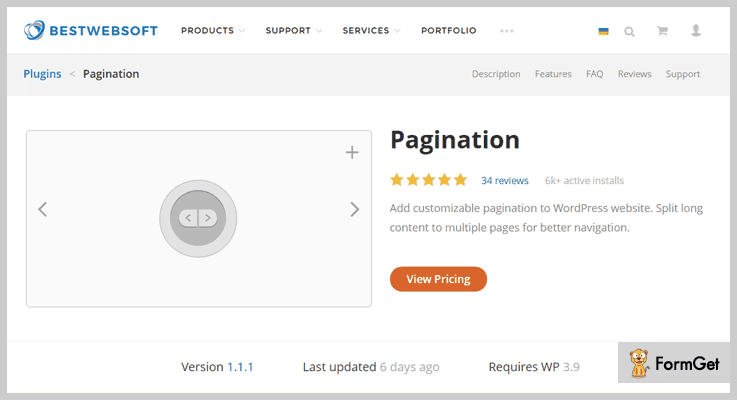 Best Web Soft Pagination WordPress Plugin