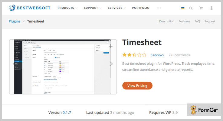 Timesheet WordPress Attendance Plugins