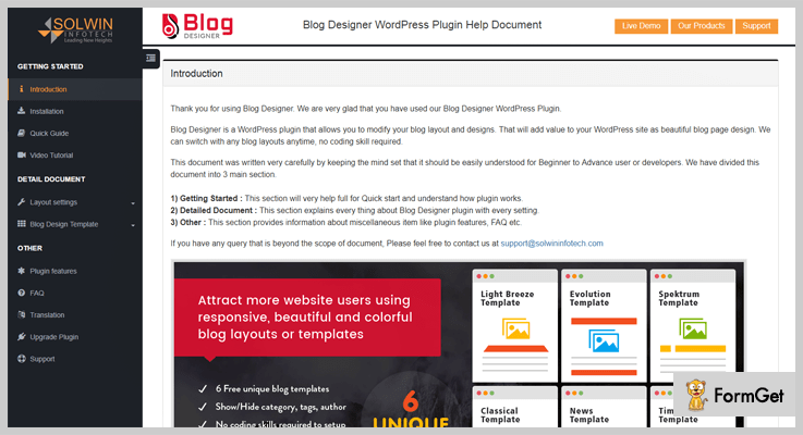 Blog Designer WordPress Plugin For Blogs