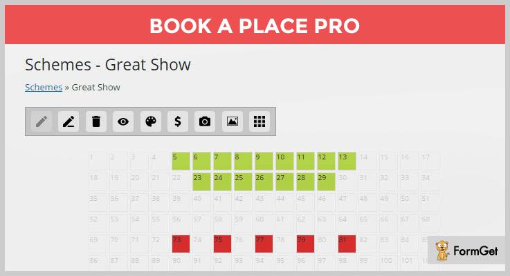 Book a Place WordPress e-Ticket Plugin