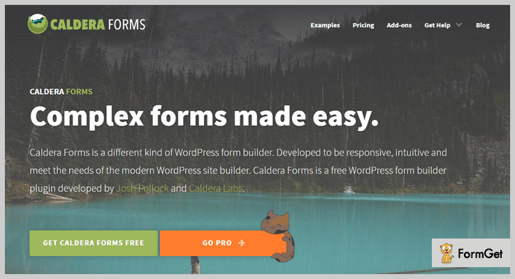 Caldera Forms Contact Form WordPress Plugin