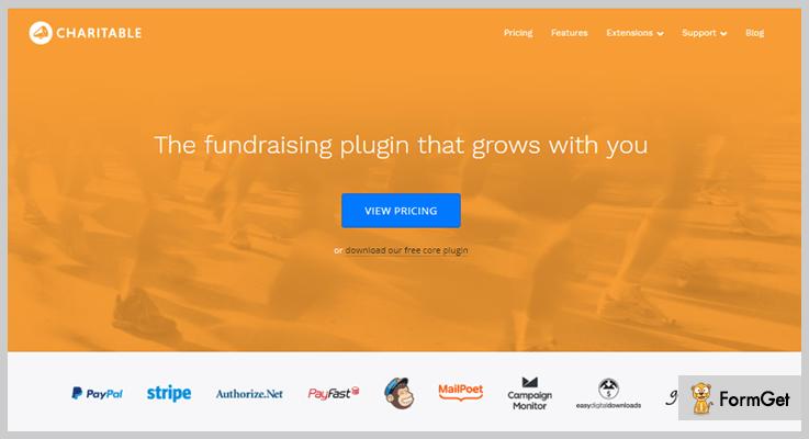 Charitable WordPress Fundraising Plugins