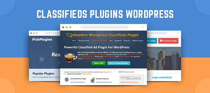 Classifieds WordPress Plugins