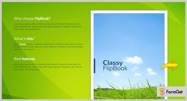Classy FlipBook jQuery FlipBook Plugin