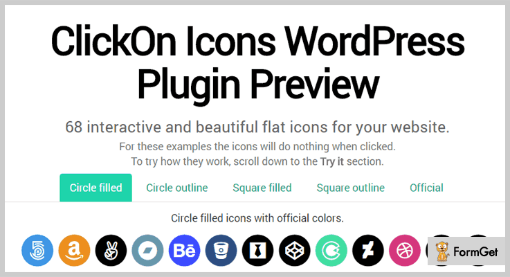 ClickOn Icons Click To Call WordPress Plugin