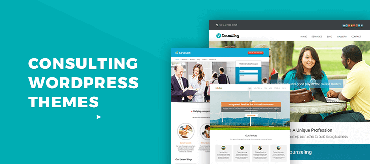 5+ Consulting WordPress Themes 2018 (Free and Paid)