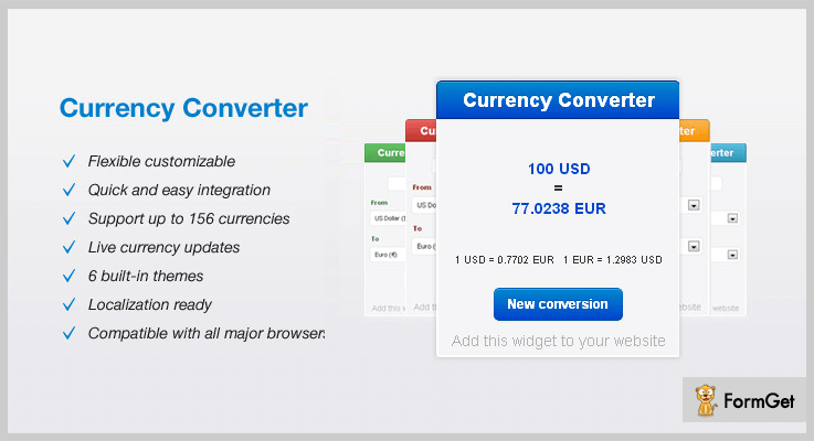 Currency Converter Currency Converter jQuery Plugins