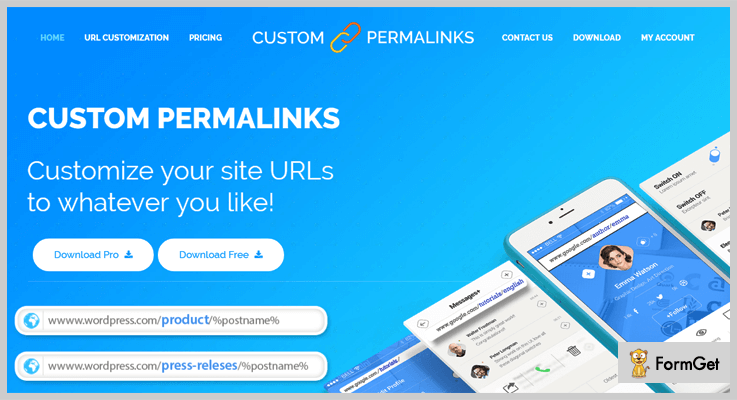 Custom Permalinks WordPress Permalink Plugin