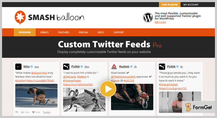 Custom Twitter Feeds Twitter WordPress Plugins