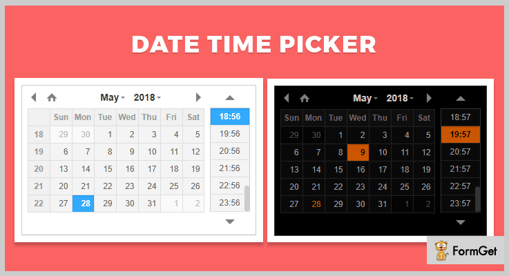 DateTimePicker jQuery Timepicker Plugin