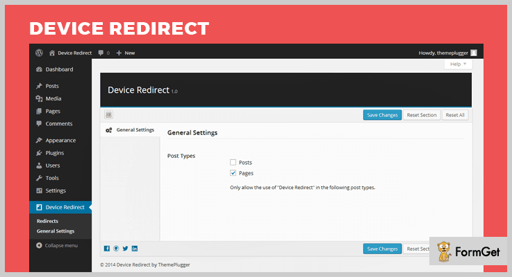 Device Redirect Redirect WordPress Plugin