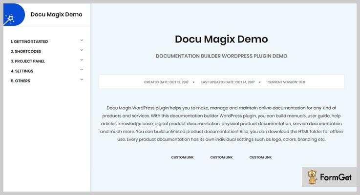 Docu Magix Document Management WordPress Plugin