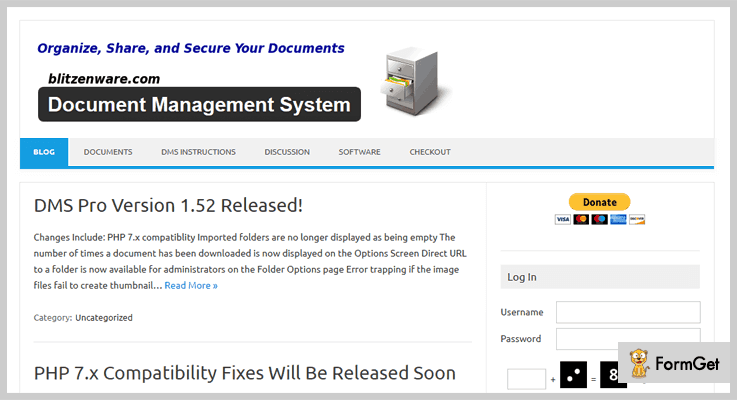 Document Management System Document Management WordPress Plugin