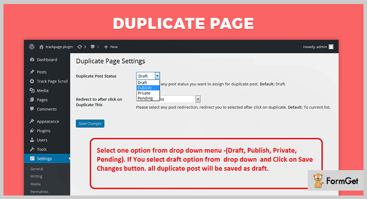 Duplicate Page WordPress Duplicate Plugin