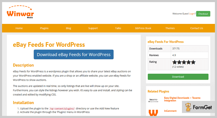 eBay Feeds for WordPress - WordPress eBay Plugins