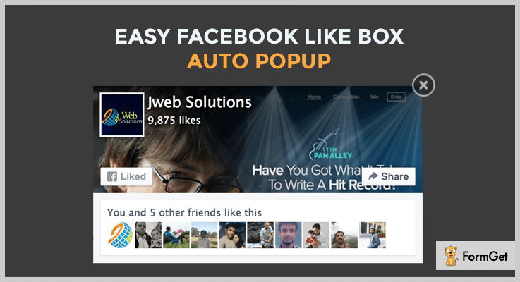 Facebook Like Box Facebook Like WordPress Plugin