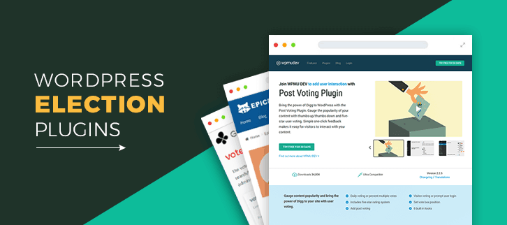 WordPress Election Plugins
