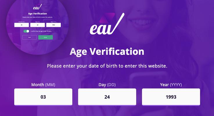 Elegant Age Verification