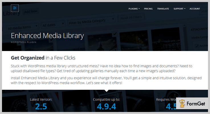 Enhanced Media Library WordPress Media Library Plugin