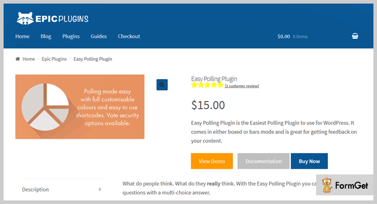 Easy Polling WordPress Election Plugin