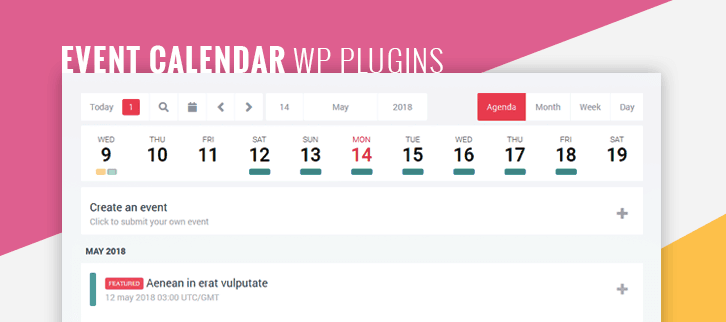 Event Calendar WordPress Plugins