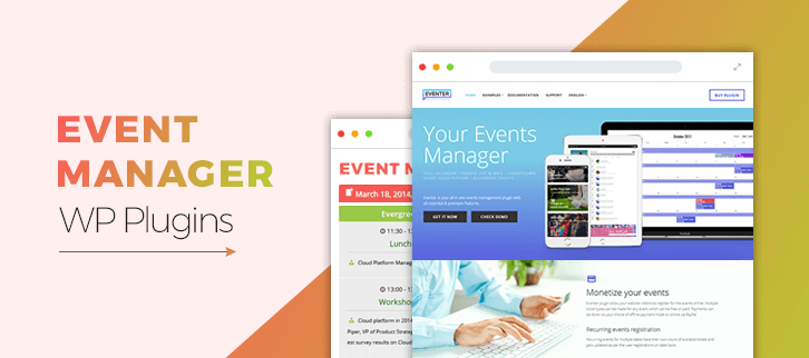 Event Manager WordPress Plugins