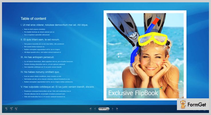 Exclusive Flipflop JQuery Plugin jQuery FlipBook Plugin