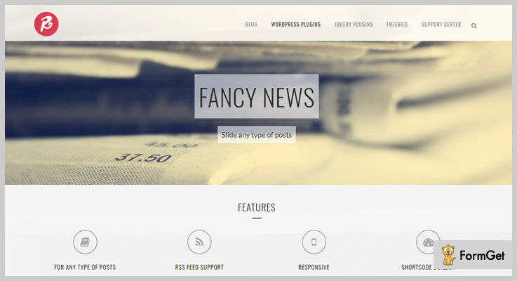 Fancy News News WordPress Plugins