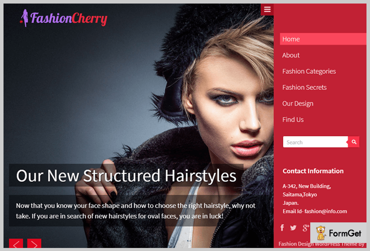 FashionCherry Fashion WordPress Themes