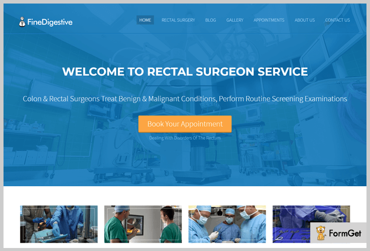 Fine Digestive Hospital WordPress Theme