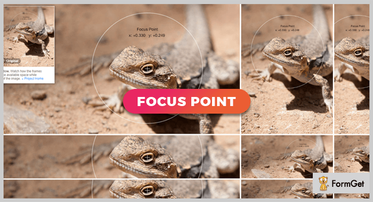 Focus Point jQuery Image Crop Plugin