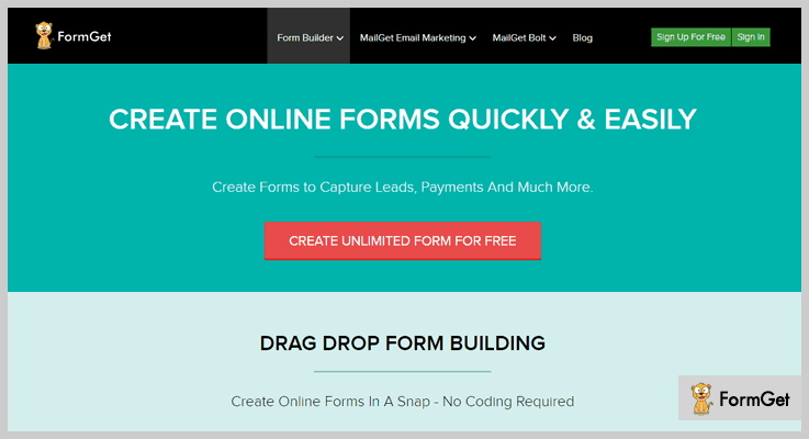 Formget Lead Generation WordPress Plugin