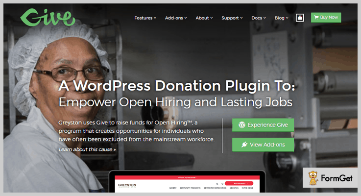 Give WordPress Fundraising Plugins