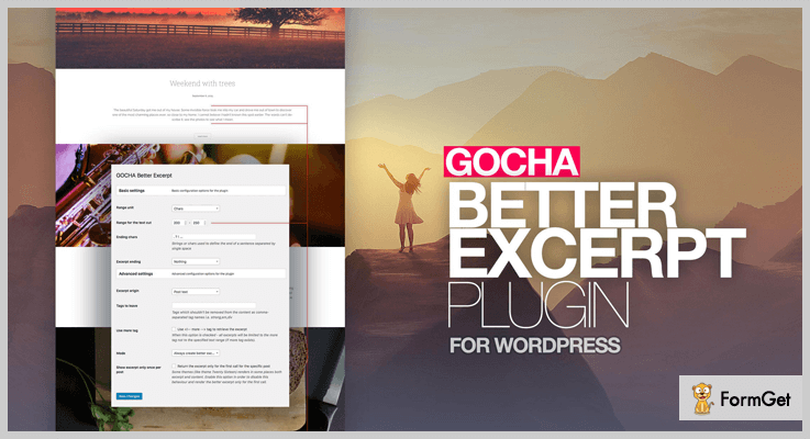 Gocha Better Excerpt WordPress Excerpt Plugin