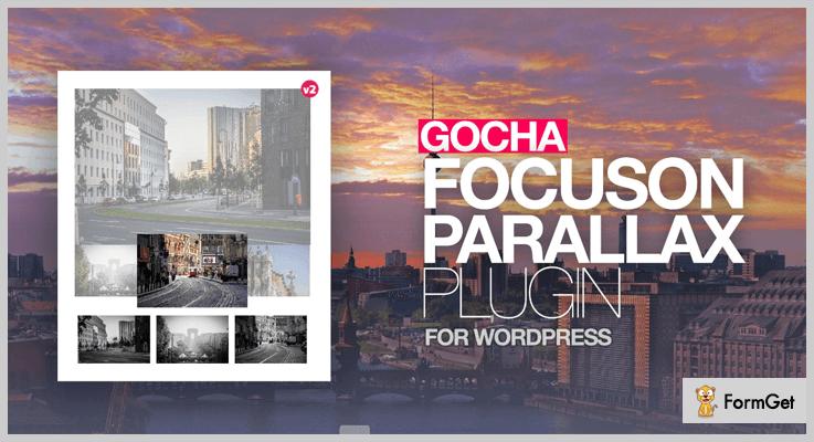 Gocha Focuson - Parallax Effect WordPress Plugins