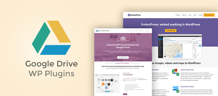 7+ Google Drive WordPress Plugins 2019 | FormGet