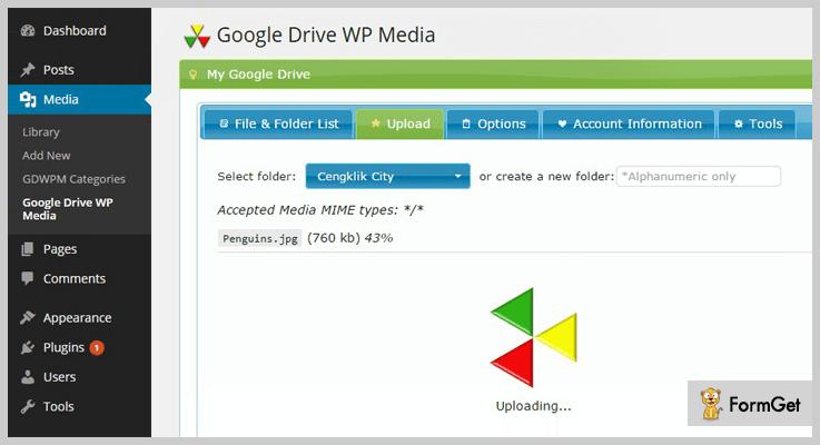 Google Drive WP Media Google Drive WordPress Plugins