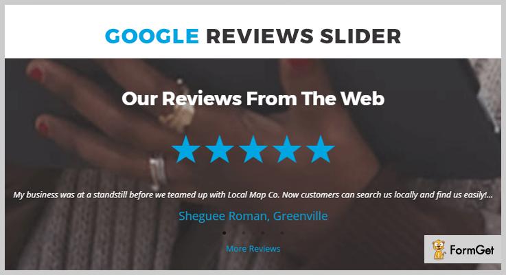 Google Reviews Slider Google Reviews WordPress Plugin
