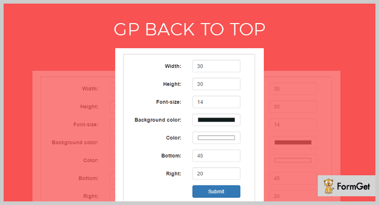 GP Back To Top Back To Top WordPress Plugin