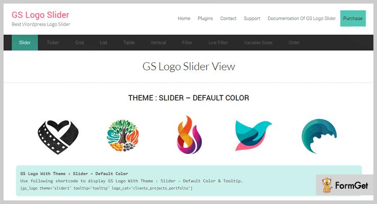 GS Logo Slider Logo Slider WordPress Plugin